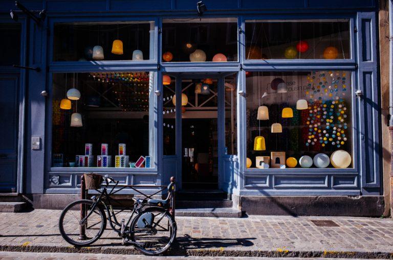 loja de franquia para cidade pequena