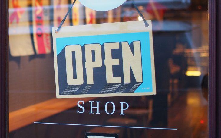 loja ou quiosque imagem ilustrativa fachada de loja