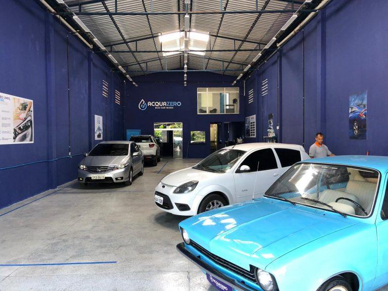 acquazero loja franquia automotiva