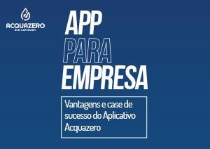 ebook app para empresa acquazero