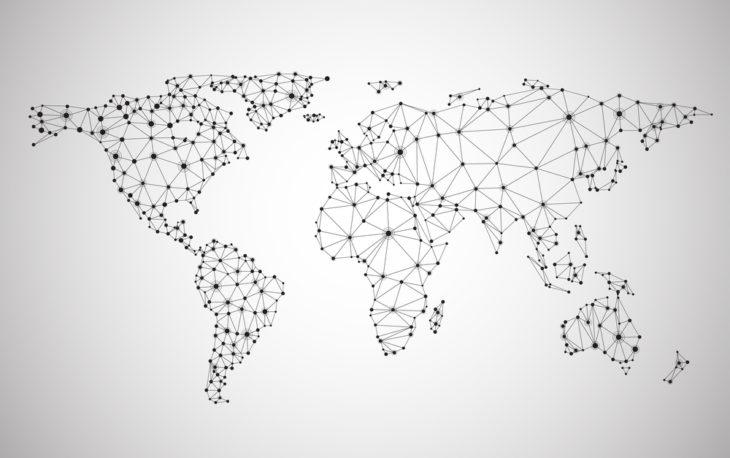 Mapa de expansão e uma franquia brasileira no exterior
