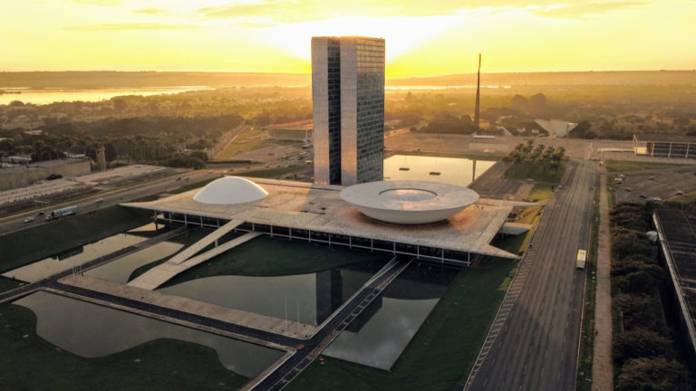 Franquias baratas em Brasília: imagem do câmara dos deputados