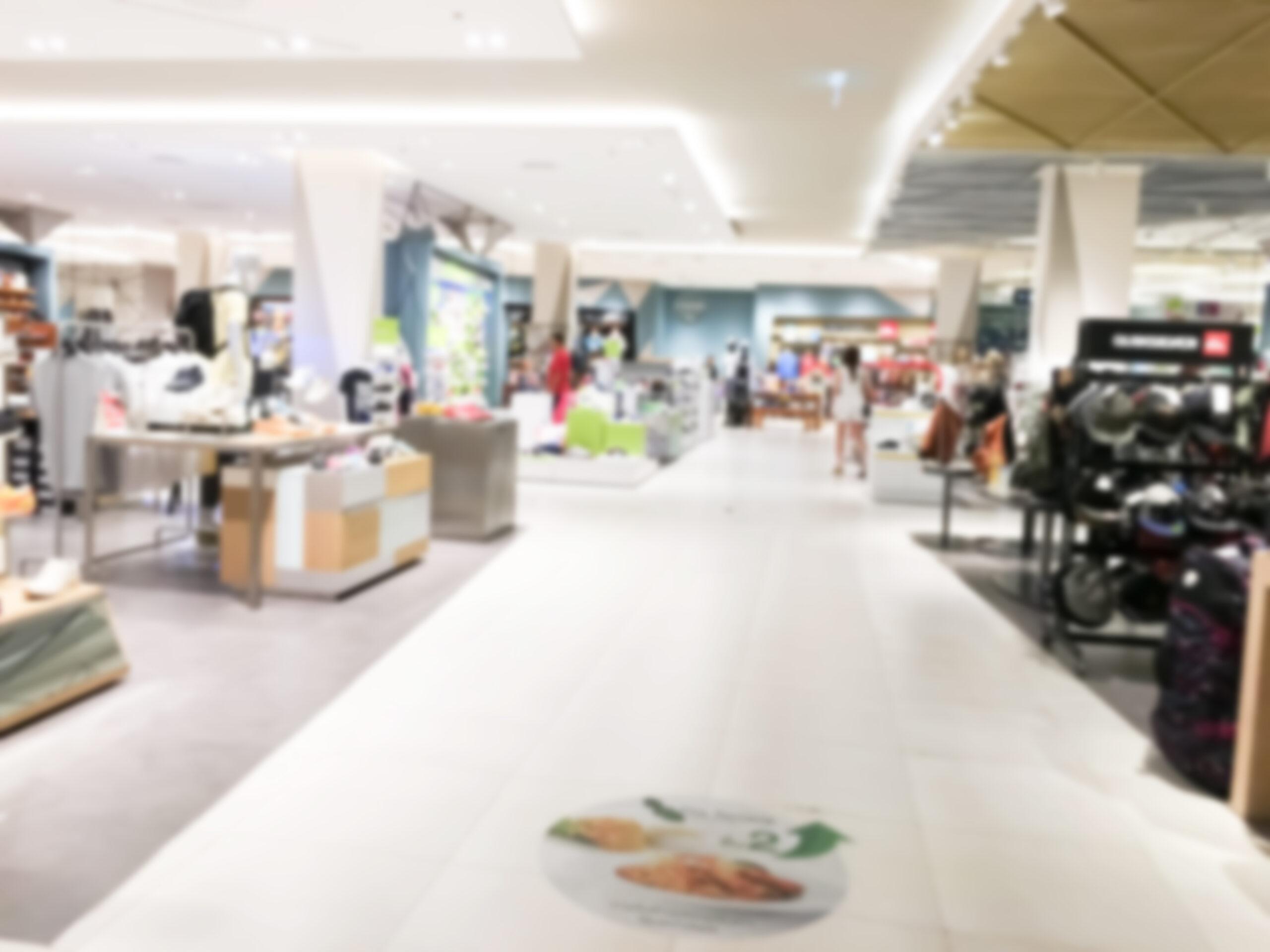 Vemos uma loja de departamento por dentro (imagem ilustrativa).