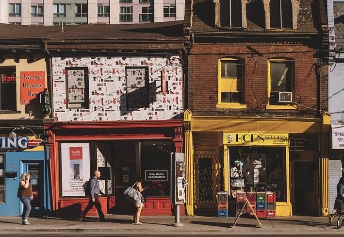 fachada de loja ilustrativa vantagens abrir franquia escolha do ponto